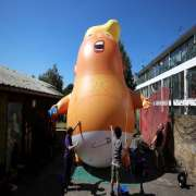 London Trump Balloon