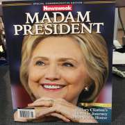Madam President Newsweek Cover Pulled From Shelves