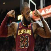 Lebron Flexing